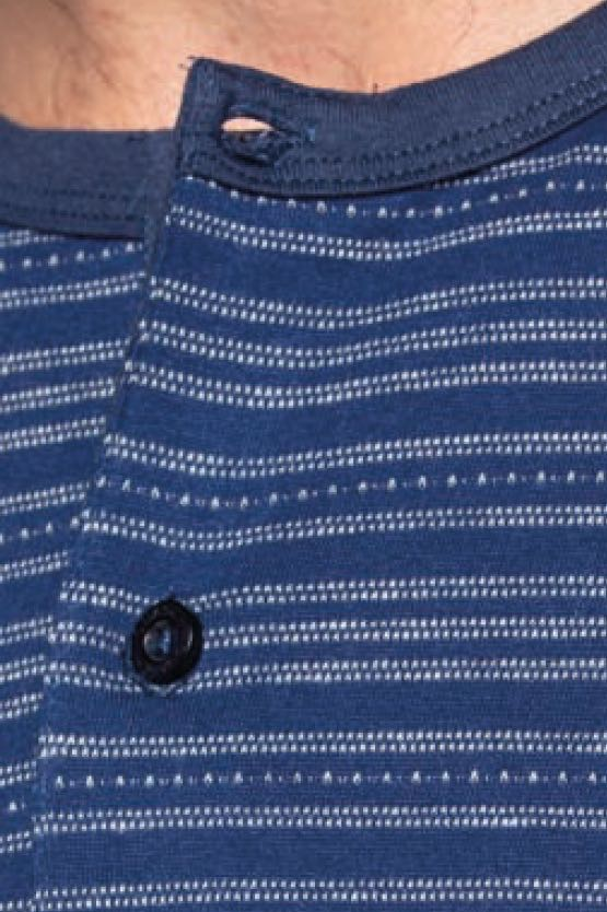 GUASCH Pánské pyžamo MARCO tmavě modrá L