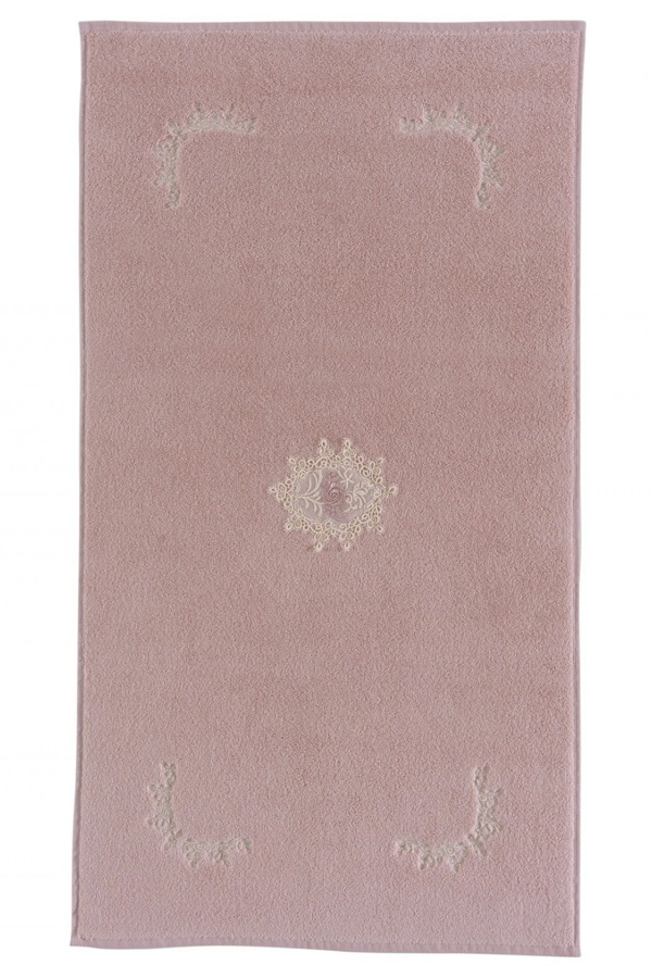 Soft Cotton Koupelnová předložka DESTAN Pudrová