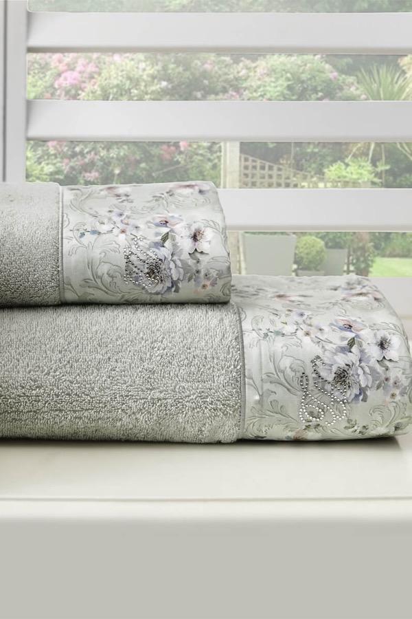 Soft Cotton Osuška a ručník GRANT v dárkovém balení světle zelená
