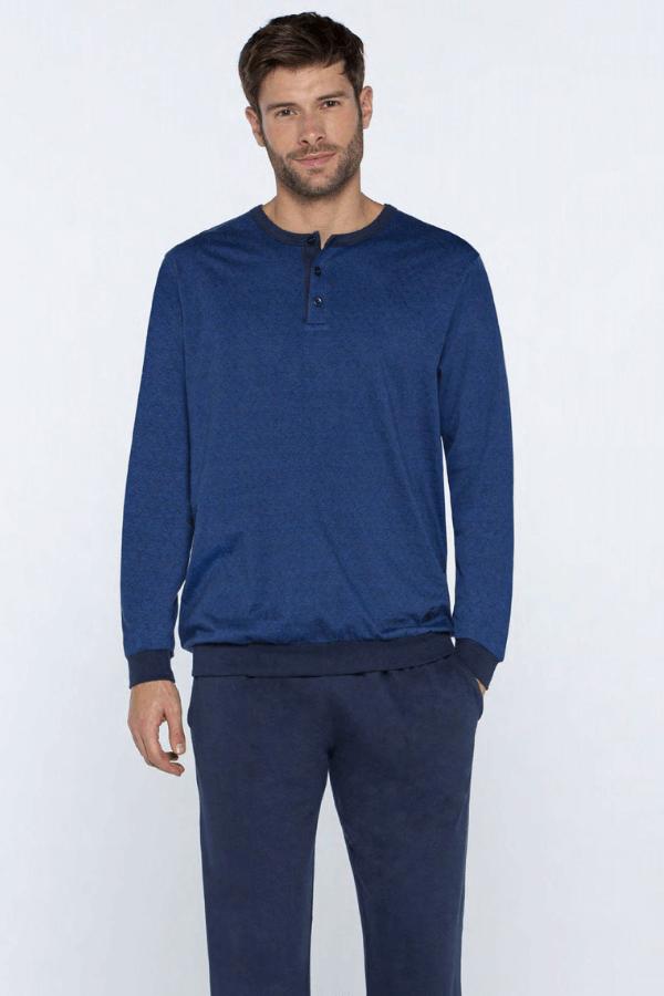GUASCH Pánské pyžamo GIORGIO Tmavě modrá S