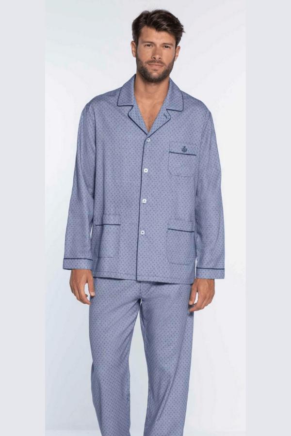 GUASCH Pánské pyžamo RAFAEL Modrá L