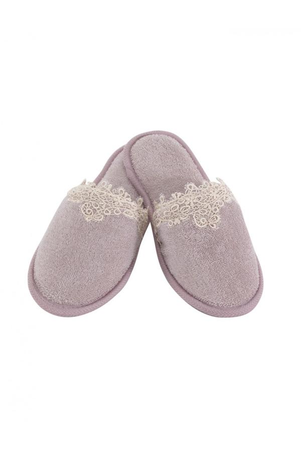 Soft Cotton Dámské pantofle DESTAN. Froté dámské pantofle DESTAN. Froté dámské pantofle ve francouzském stylu s gumovou podrážkou z kolekce DESTAN.