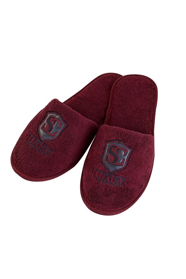 Soft Cotton Pánské pantofle LUXURY. Froté pantofle LUXURY, s gumovou podrážkou jsou vhodné zejména, jako doplněk k pánským županů LUXURY.