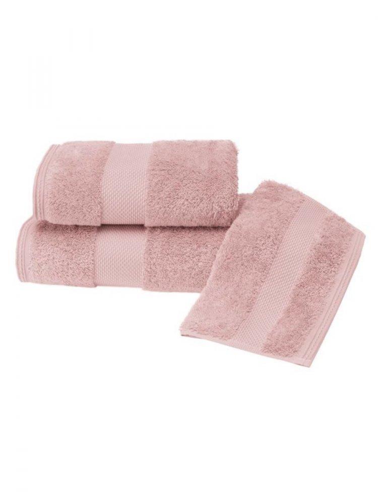 Soft Cotton Luxusní malý ručník DELUXE 32x50cm z Modalu starorůžová