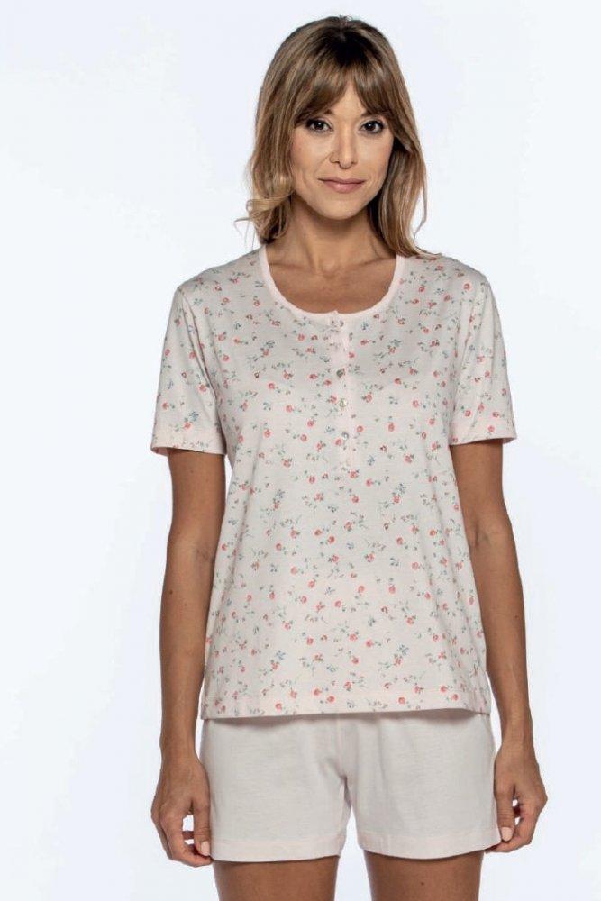 GUASCH Dámske pyžamo GEMA Ružová M