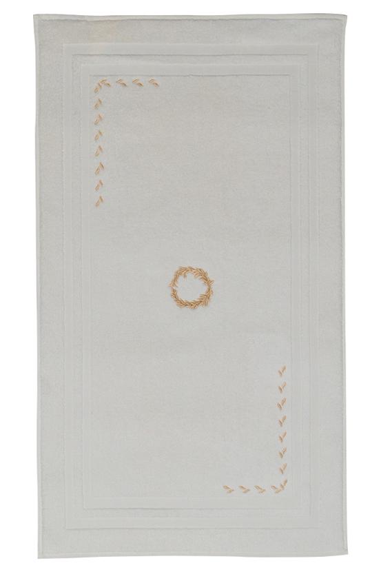 Soft Cotton Koupelnová předložka SEHZADE 50x90 cm smetanová/zlatá