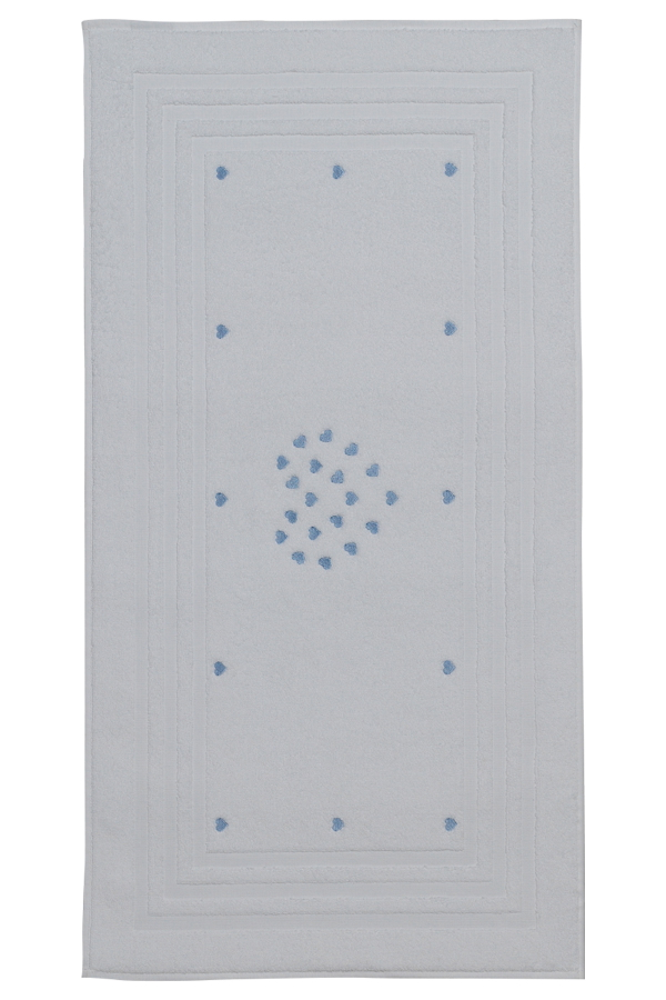 Soft Cotton Koupelnová předložka MICRO LOVE 50x90 cm modrá