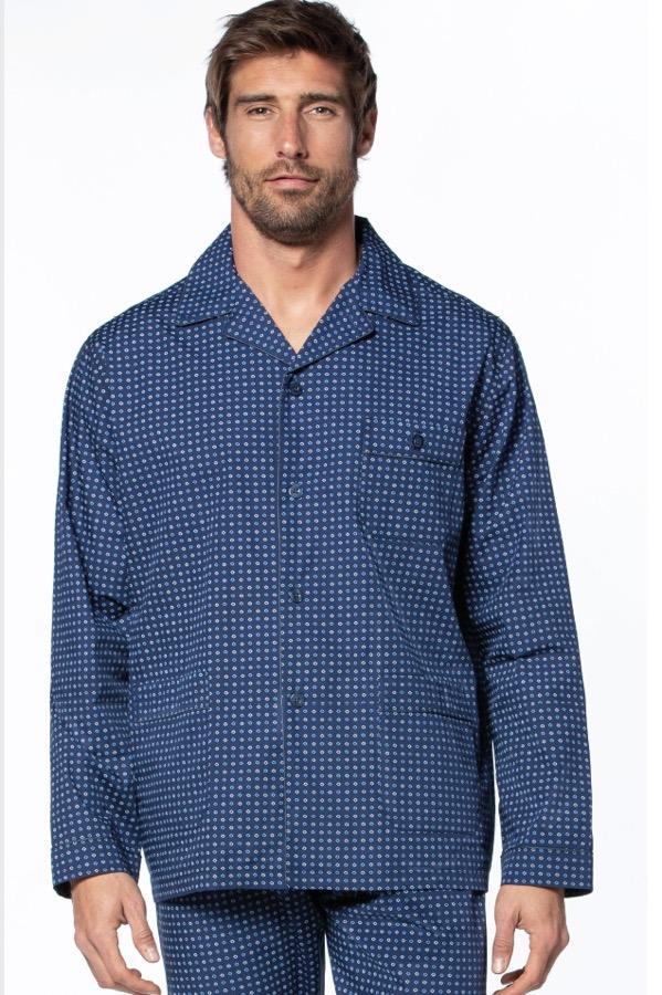 GUASCH Pánské pyžamo ERNESTO tmavě modrá XXL