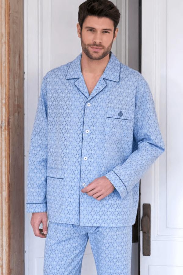GUASCH Pánské pyžamo FILLIPO Modrá S