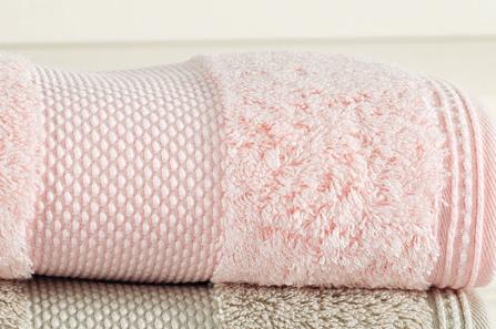 Soft Coton Luxusní osušky DELUXE 75x150cm růžová