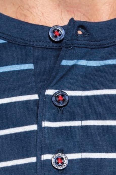 GUASCH Pánské pyžamo LEO modrá  M