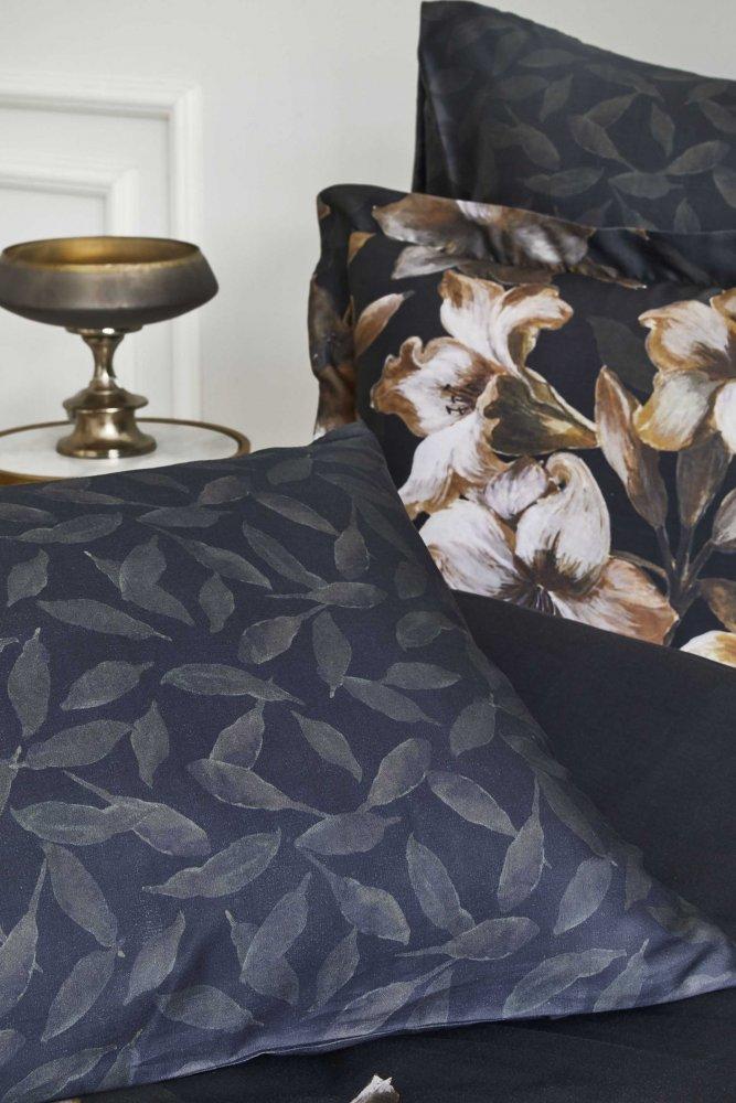 Bavlněné povlečení na dvoulůžko MIRENNA Černá Dvojlůžko EU 200 x 220 cm